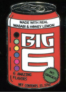 Delicious Drinks - Mystery - Big 6 pin