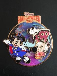 "Tokyo Disneyland (TDL) - Disney Halloween 2019 - ""Spooky Boo!"" Parade  pin"