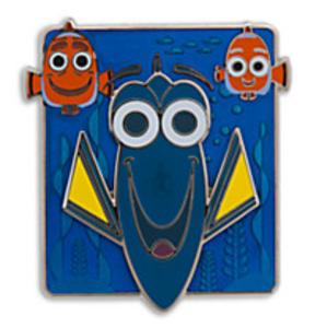 Dory, Marlin and Nemo - Finding Dory pin set 2016 pin
