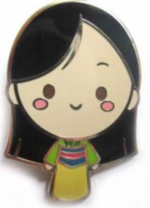 Mulan Mystery Cutie pin