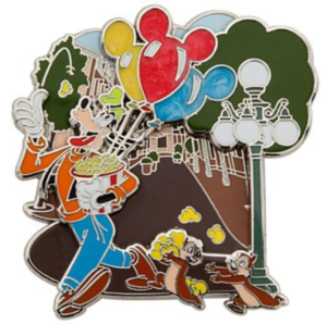 Goofy, Chip and Dale - Main Street USA Disney Parks Adventure pin