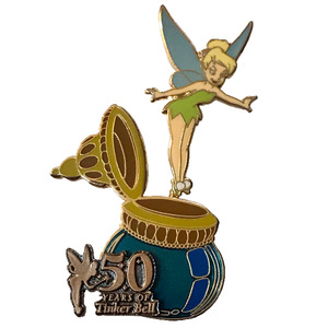 WDW - 50 Years of Tinker Bell (#9: September) - Hovering Over an Ink Well pin