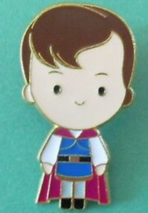 Prince Charming Mystery Cutie pin