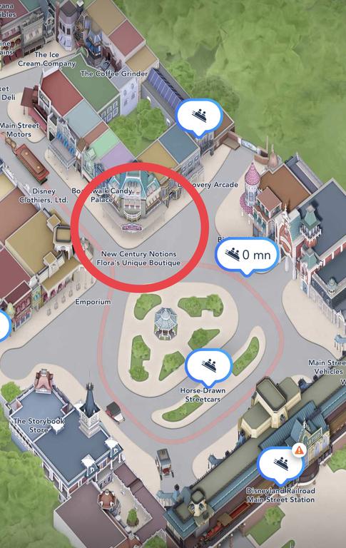 Flora's location