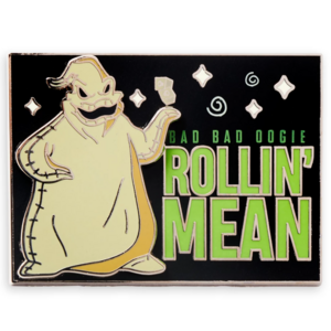 Oogie Boogie rollin' mean - Pin & Flair pin
