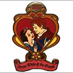 Snow White & The Prince Countdown to the Millennium pin