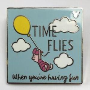 Time Flies - Hidden Mickey pin