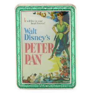 Peter Pan - Disney Store Disney Classics Film Poster Mystery Pin pin