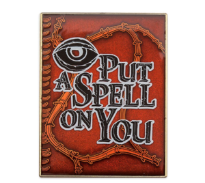 Book of Spells quote pin