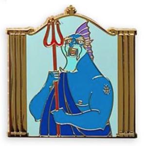 Poseidon - Hercules Gods Mystery Pin Set pin