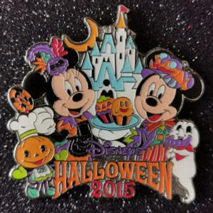 TDR Disney's Halloween 2015 pin