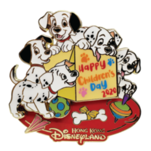 101 Dalmatians Children's Day pin