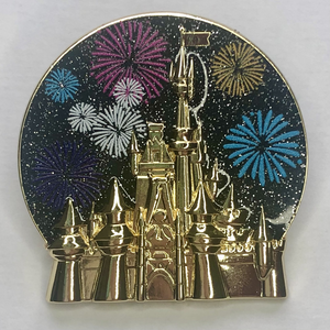 Minnie Mouse Main Attraction December Fireworks pin