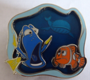 Dory and Marlin - Under the Sea pin