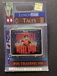 Wreck it Ralph Lunchtime Tales pin
