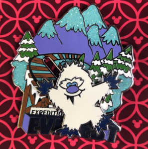 Expedition Everest Sliding Yeti pin
