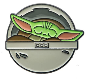 Amazon Exclusive Grogu Sleeping pin