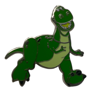 Toy Story Rex happy  pin
