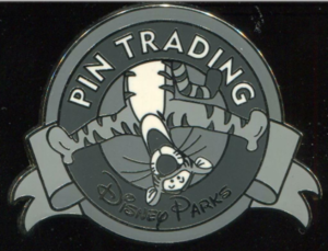 Tigger (B&W) - Keep on Trading Mystery Collection pin