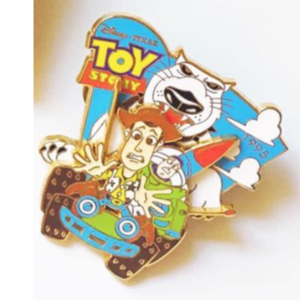 History of Art- Toy Story(1995) 3D pin
