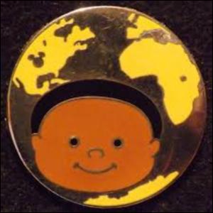 Africa - Hidden Mickey It's A Small World pin