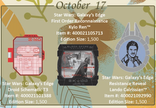 October 17th pin of the month releases