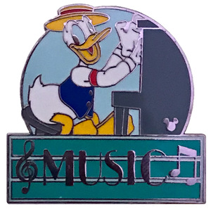 WDW Cast Lanyard - MGM Parking Sign (Donald Music)) pin