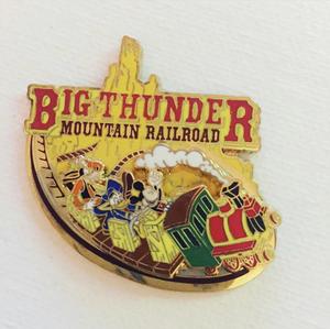 Big thunder Mountain Railroad pin