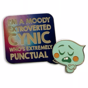 Moody introverted cynic Soul 22 pin