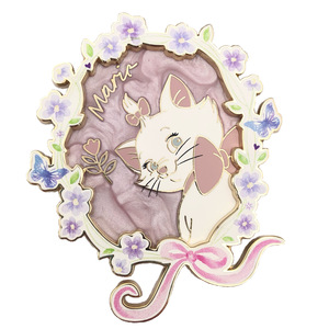 Marie with flowers - Disney Employee Center pin