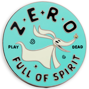 Zero Full of Spirit pin