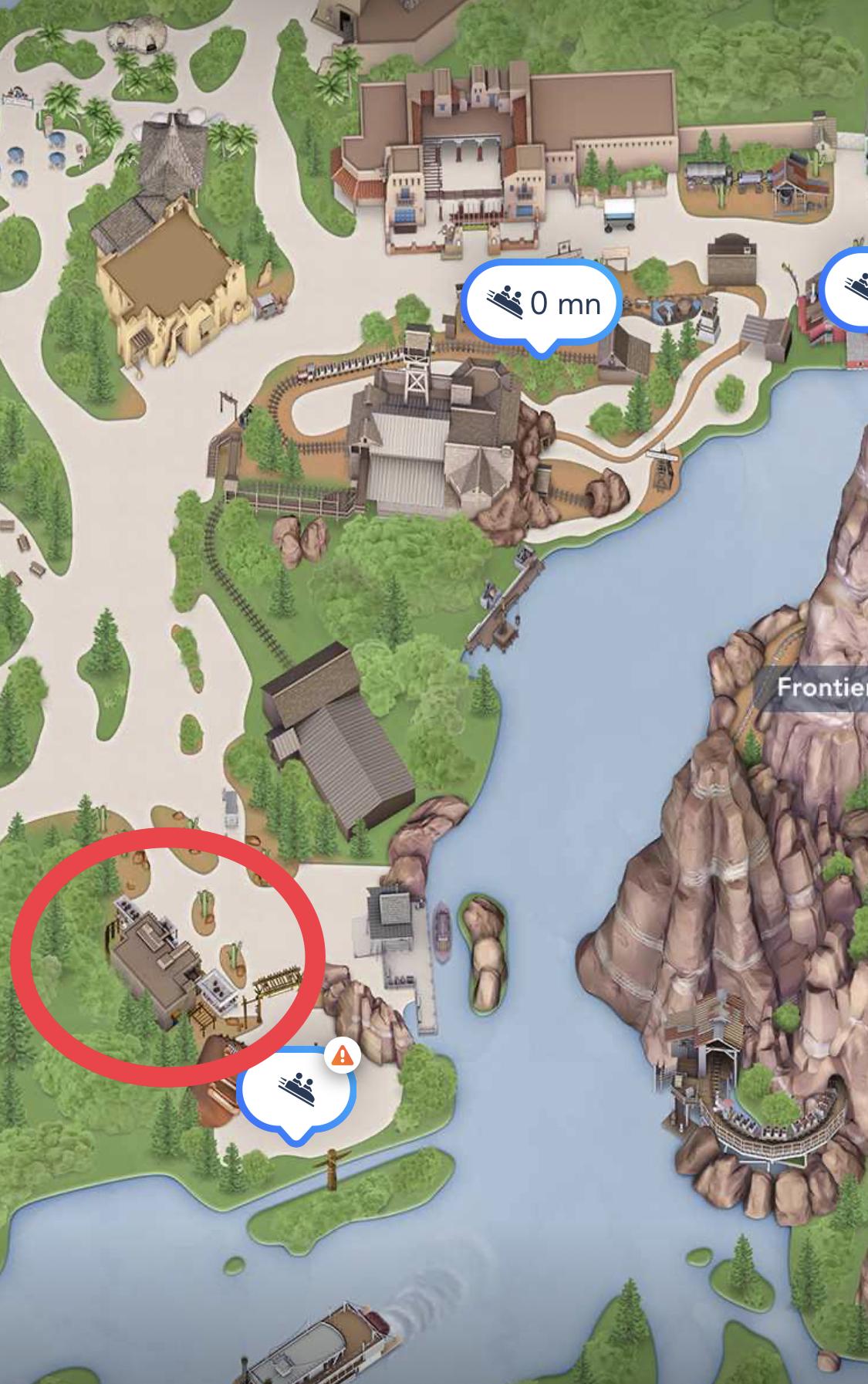 Trading Board Disneyland Paris - Pueblo Trading Post