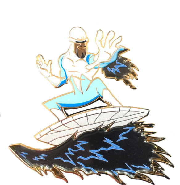 Frozone from The Incredibles pin