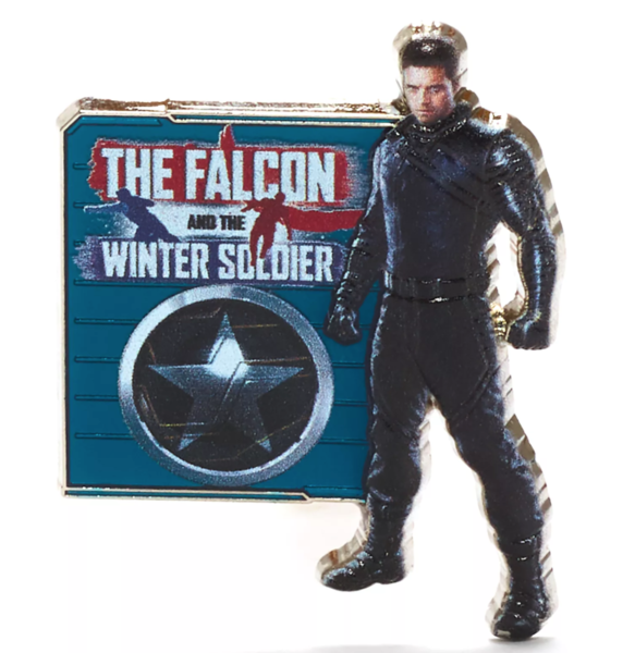 The Winter Soldier - The Falcon and the Winter Soldier - Disney+ pin