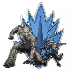 Rocket and Groot - Marvel - logo pin pin