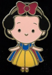 Snow White Mystery Cutie pin