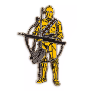C-3PO The Rise of Skywalker pin
