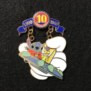 Pin Trading 10th Anniversary Tribute Stitch Tinker pin