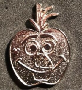 Olaf Candy Apple (Chaser) pin
