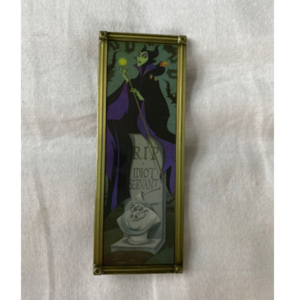 Disney Haunted Mansion Stretch portrait- Maleficent and Goon pin pin