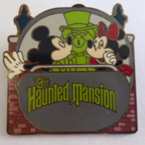 The Haunted Mansion - Walt Disney World Mystery Attractions pin