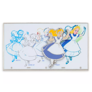 Alice Ink and Paint pin
