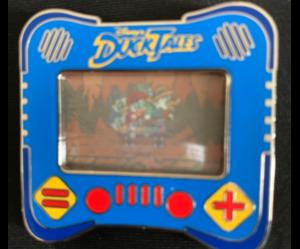 DuckTales I heart gaming pin