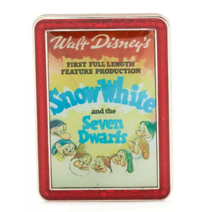 Snow White - Disney Store Disney Classics Film Poster Mystery Pin pin