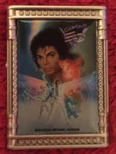 Captain Eo tribute poster  pin