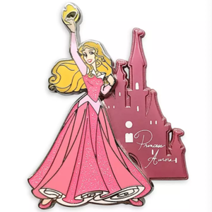 Aurora with Castle 2021 pin