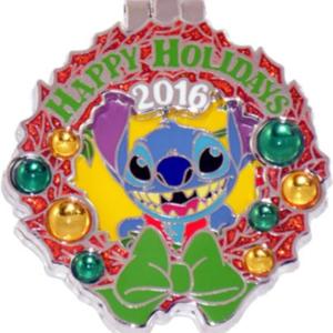 Polynesian Resort - Holiday Wreaths Resort Collection pin