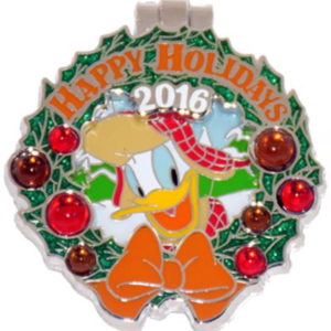Wilderness Lodge - Holiday Wreaths Resort Collection pin