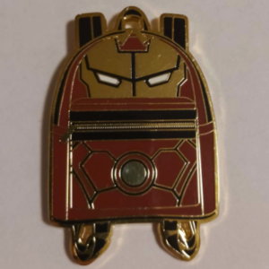 Iron Man Loungefly Backpack pin