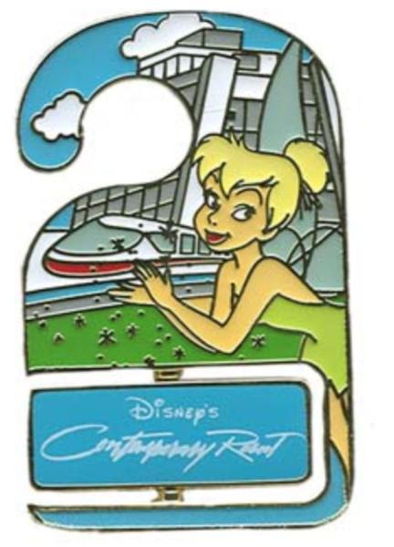 Contemporary Resort - Disney World Do Not Disturb pin